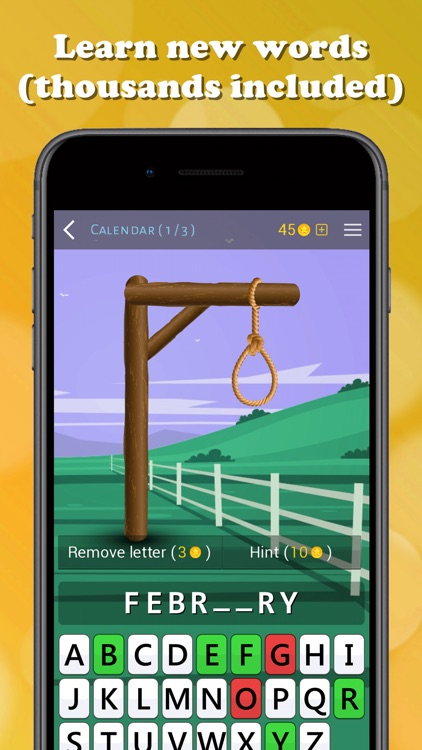 Hangman game - Guess the word screenshot-4