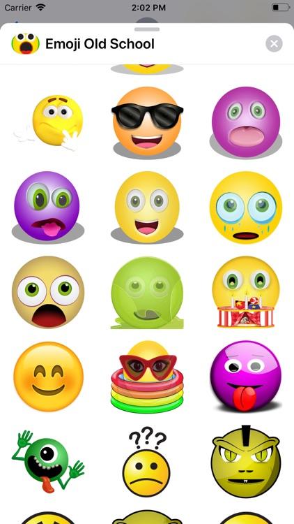 Emoji Old School screenshot-6