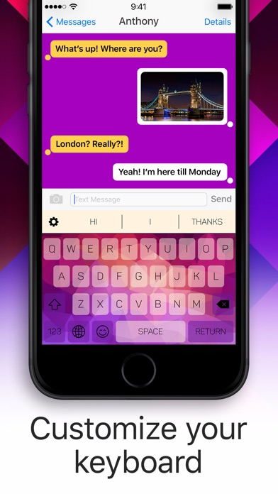 Color Keyboard: Themes & Emoji Screenshot