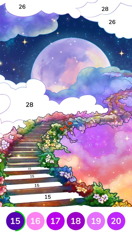 Bible Coloring Paint by Number screenshot-3