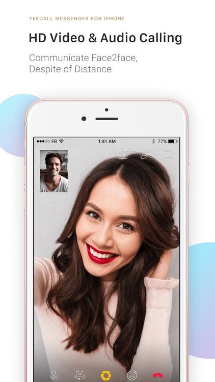 YeeCall: HD Voice & Video Call screenshot-0