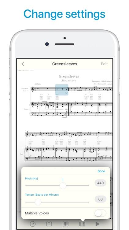 Sheet Music Scanner screenshot-5