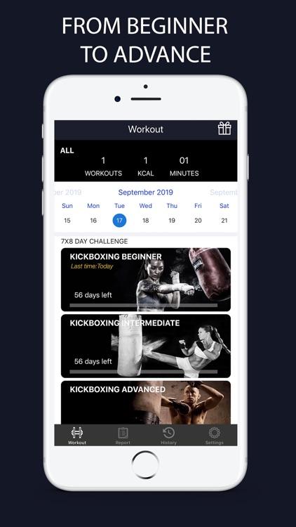 Kickboxing Fitness Trainer screenshot-0