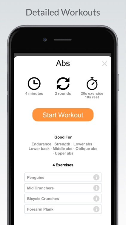 Quick Workout - Home Exercise screenshot-4
