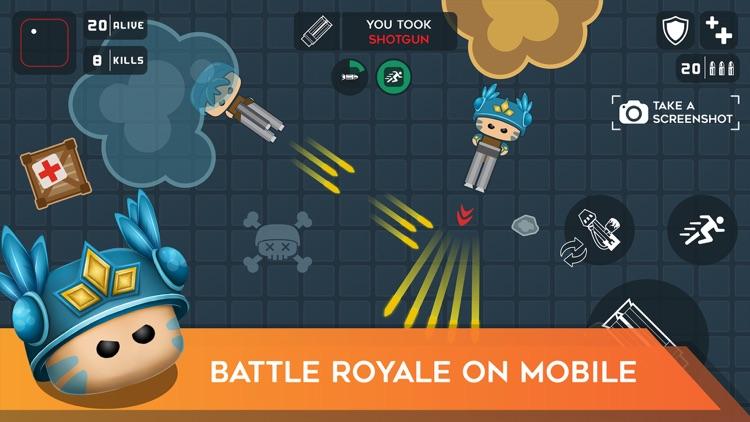 Mobg.io Survive Battle