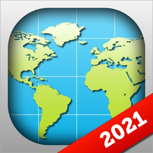 World Map 2021 Geography Maps