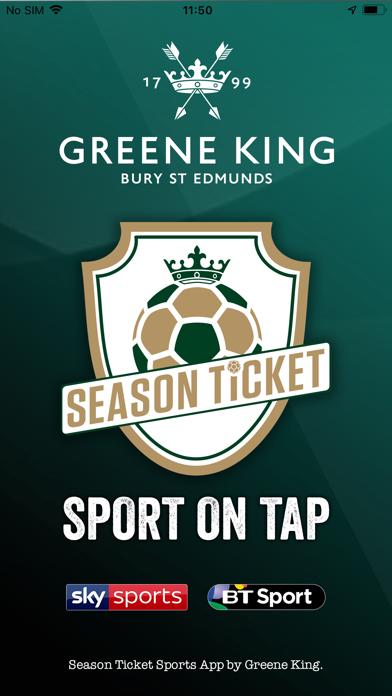 Greene King Season Ticket screenshot one