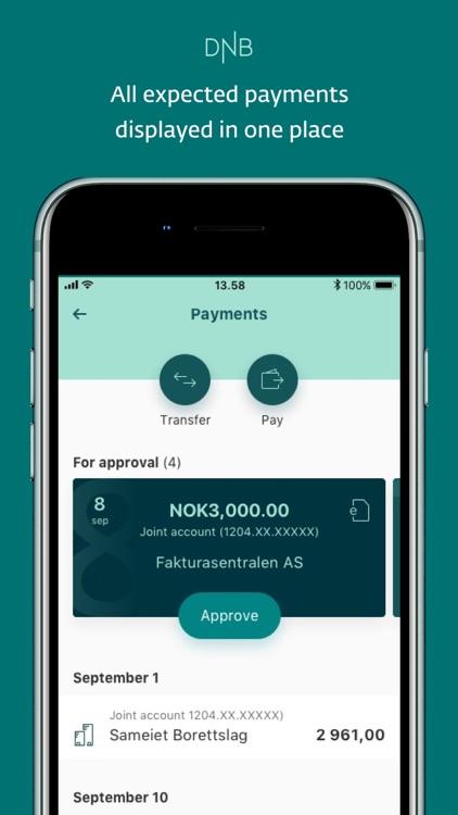 DNB Mobile Bank screenshot-3