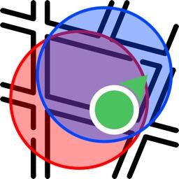 Intersection radius