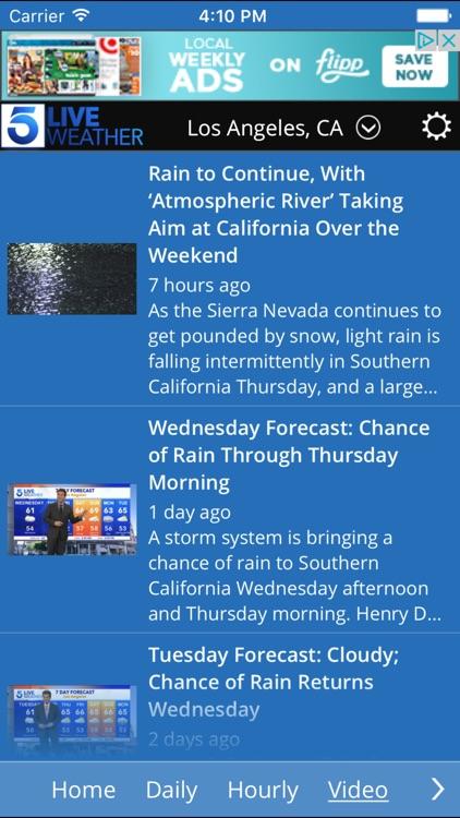 KTLA Los Angeles Weather screenshot-3