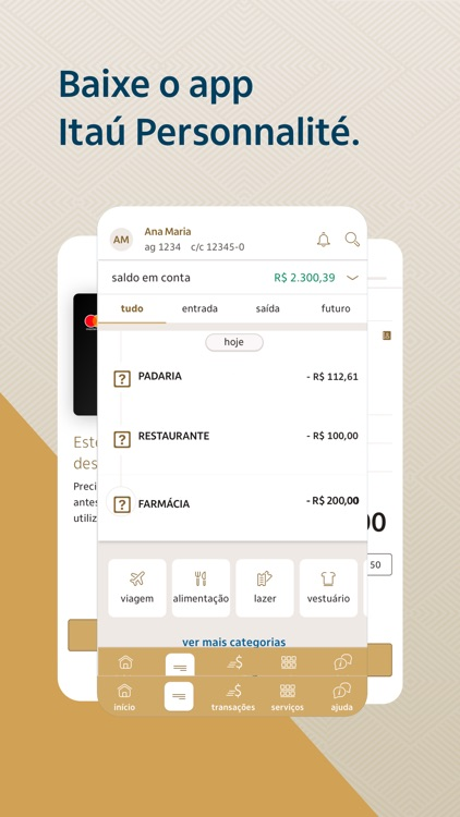 Banco Itaú Personnalité screenshot-0