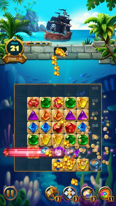 Jewels Fantasy Legend - Match3Captura de pantalla de8