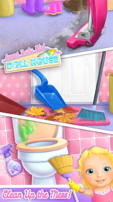 Sweet Baby Girl Doll House screenshot 2
