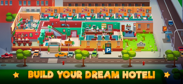 ‎Hotel Empire Tycoon-Idle Game Screenshot