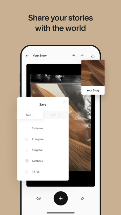 Unfold — Story Maker & Collage Screenshot