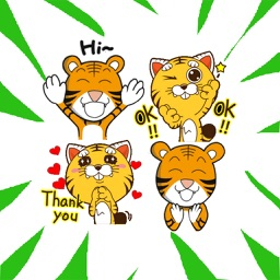 Little Tiger Stickers