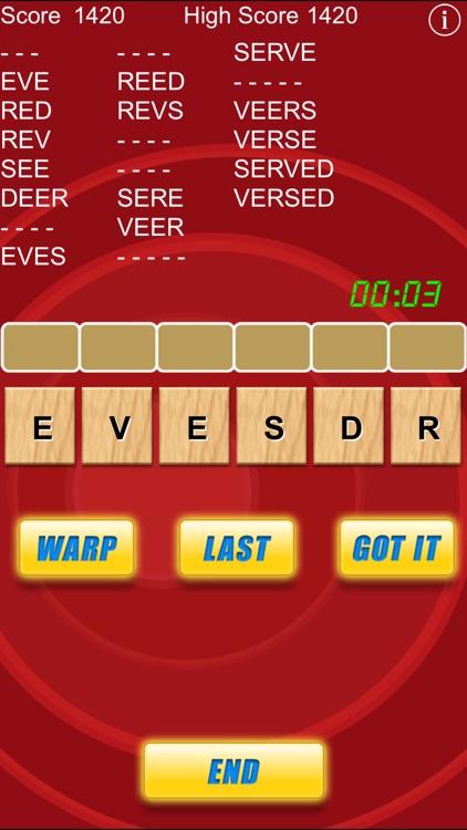 Word Warp - A Word Puzzle Game screenshot-3
