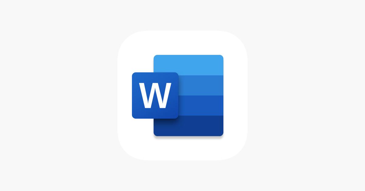 Microsoft Word en App Store