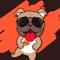 App Icon for Bulldog Emoji Cutest Stickers App in Greece IOS App Store