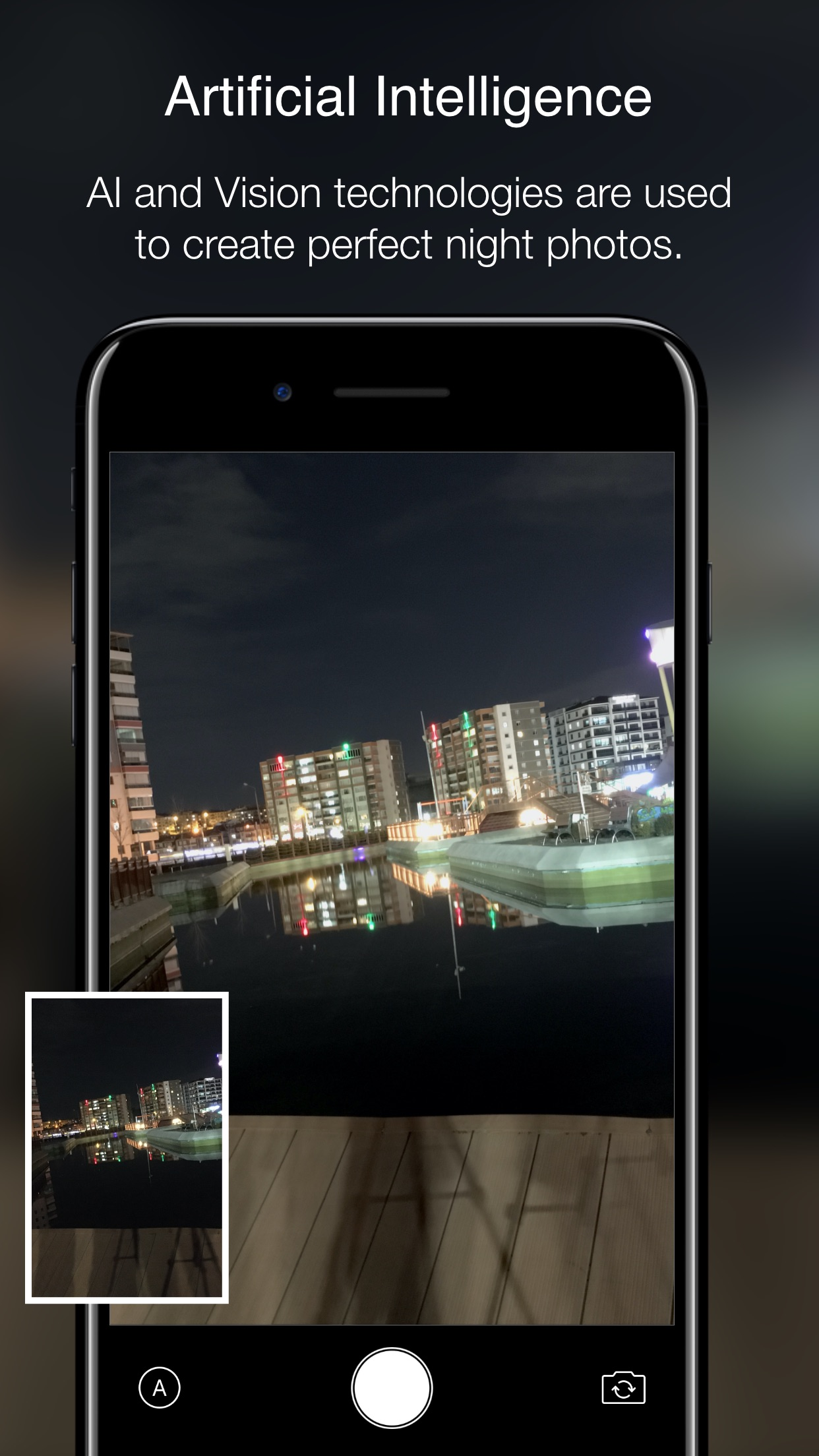 Screenshot do app Nightcam: Night Mode Camera