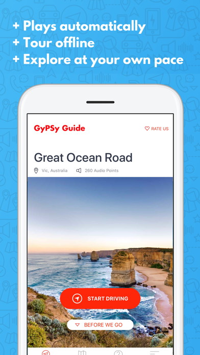 Great Ocean Road GyPSy Guide Screenshot