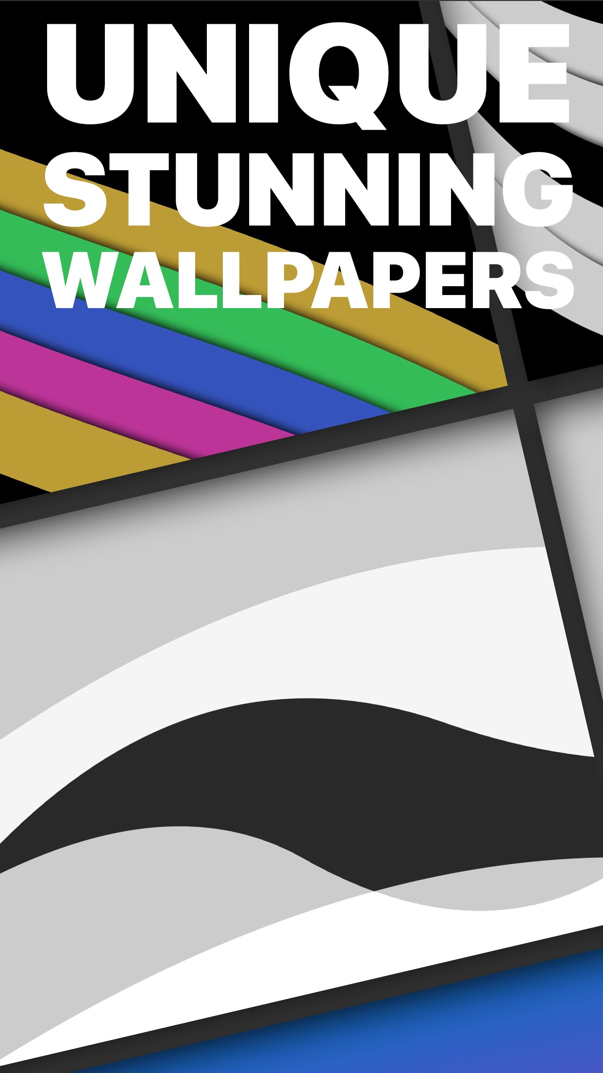 Screenshot do app The Wallpaper & Background App