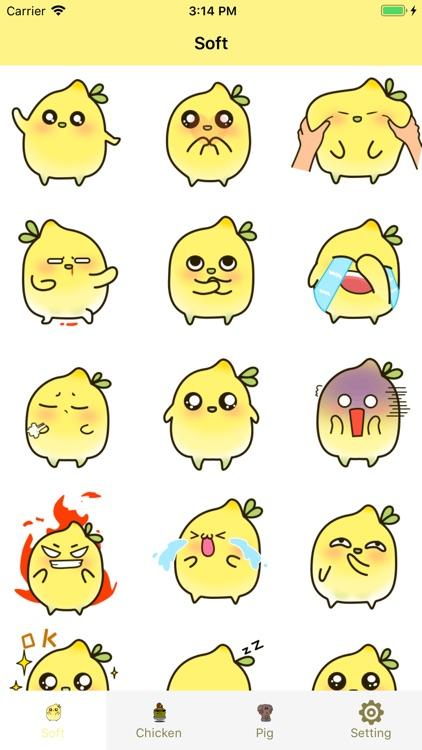 Clever Soft&Chicken Stickers