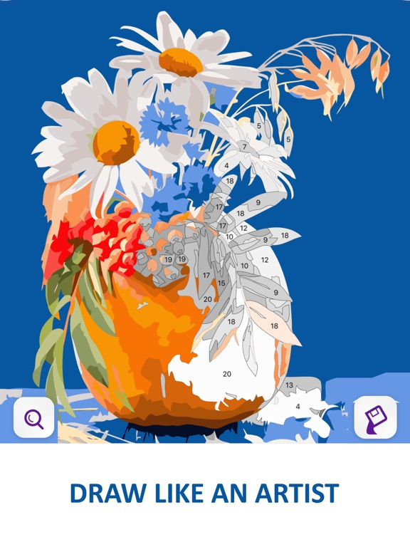 Color by Number Oil Painting screenshot 7