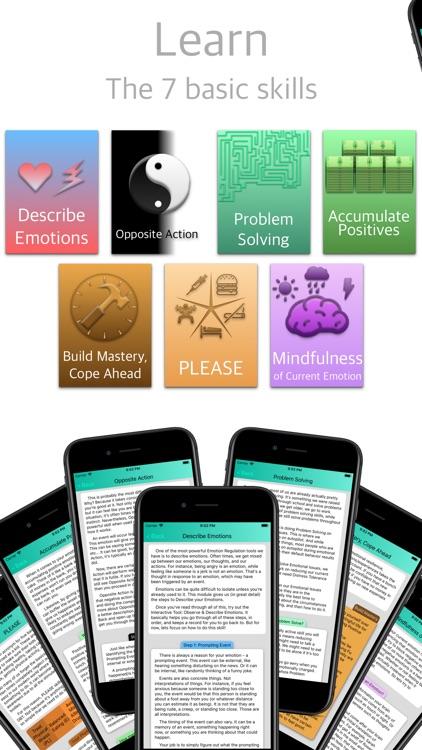 DBT Emotion Regulation Tools