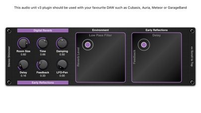 Shimmer AUv3 Audio Plugin screenshot 4
