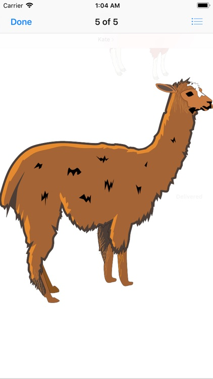 Lotsa Llama Stickers screenshot-5