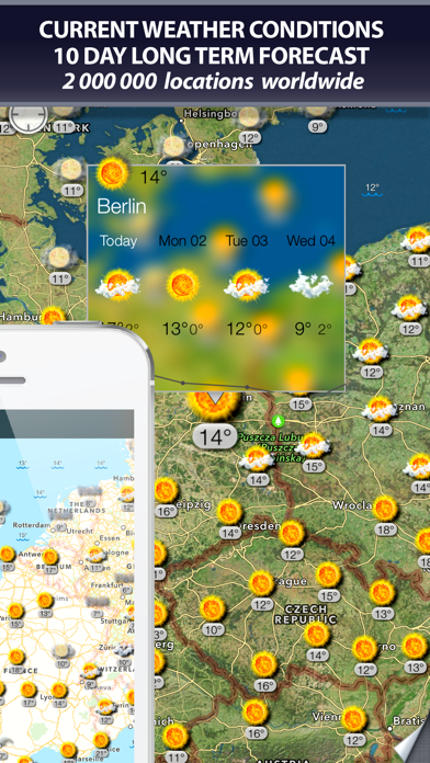 Weather and wind maps på PC