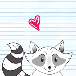 Raccoons day Stickers