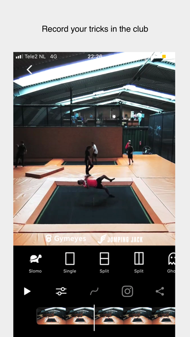 Gymeyes - Record your tricks! screenshot two