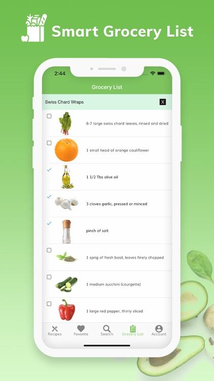 Vegan Recipes - Plant Based screenshot-4