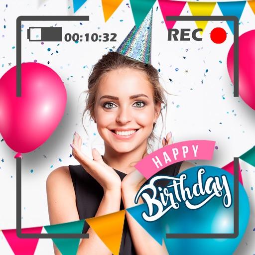 Happy Birthday Video Maker Gif