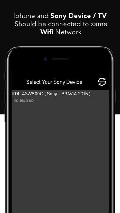 SonyMatics Remote ControlCaptura de pantalla de3
