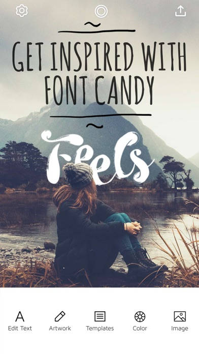 download Font Candy Photo & Text Editor