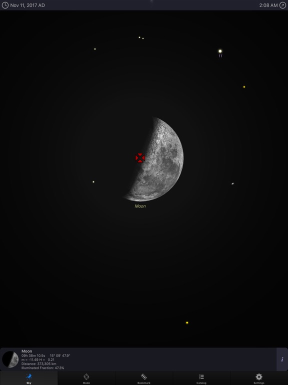 Screenshot #4 for StarMap 3D+ Plus
