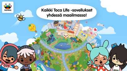 Screenshot for Toca Life: World in Finland App Store