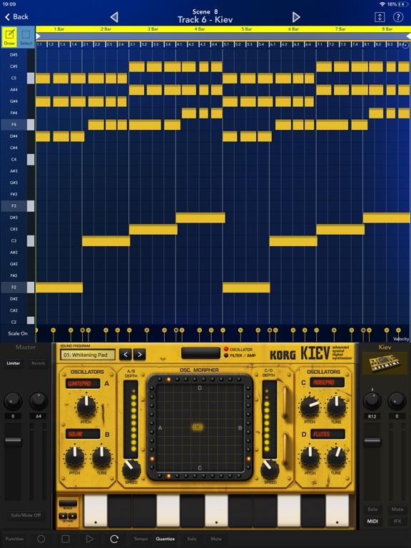 Screenshot #4 for KORG Gadget 2