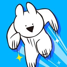 すこぶる走るウサギ By 株式会社 Dk