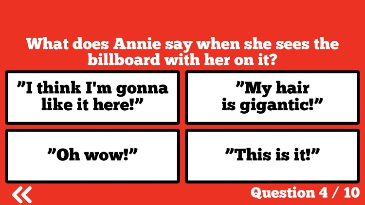 Ultimate Trivia for Annie!