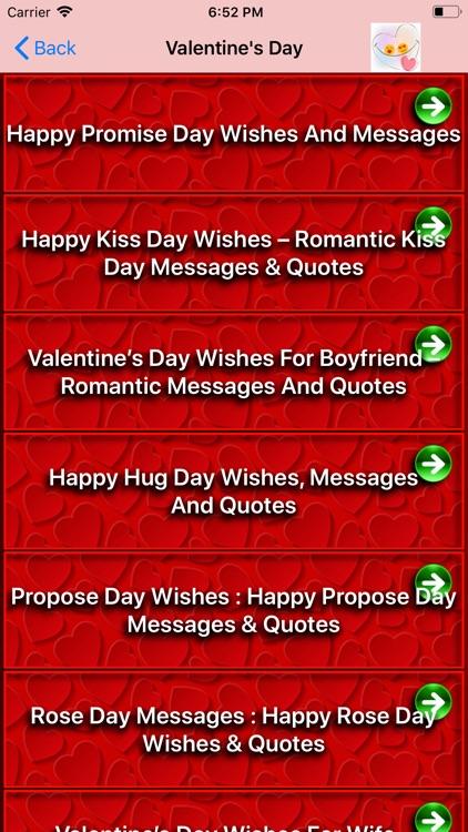 Valentine Day Wallpaper Quote screenshot-4