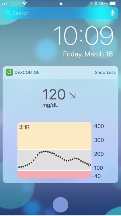 Dexcom G6 screenshot-4