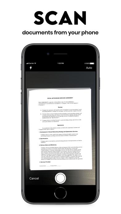 Scan App: PDF Document Scanner Screenshot