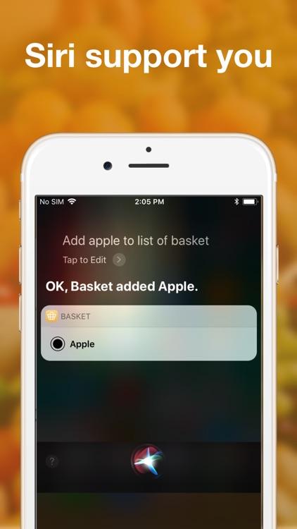Shared grocery lists plan app screenshot-7