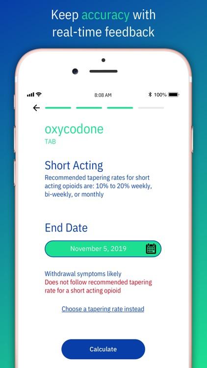 Reducere: Opioid Tapering Calc screenshot-4