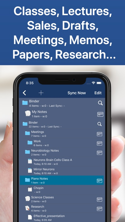 Notes Writer Pro - Sync &Share screenshot-4