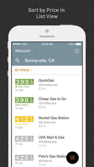 Gas Guru: Cheap Gas Prices Screenshot